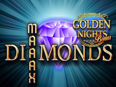 maaax diamonds golden nights bonus