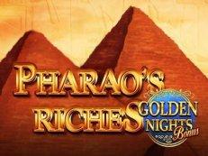 pharaos riches golden nights bonus
