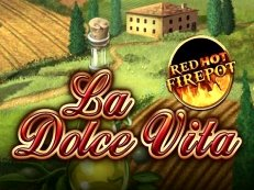 la dolce vita red hot firepot
